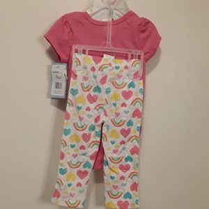 Matching Sets - 3 Piece Baby Girl Set 3-6 Month New with Tags